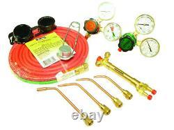 Dagger Tools Auto Body Sheet Metal Gas Welding Torch Kit-Low Pressure Regulation