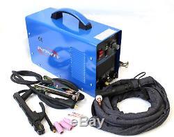 Dual Voltage 110v 220v Welder 200 Amp TIG Torch Stick ARC Argon Gas Welding