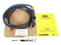 ESAB Heliarc TIG Welding Torch withRotary Valve HW-26V 75 Degree 12.5' Gas Cooled