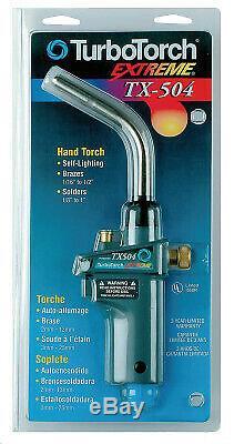 Esab Welding Tx504 Torch Swirl, Map-Pro/Lp Gas, Self Lighting 03861293