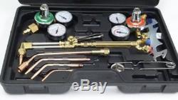 Gas Cutting Welding Kit Torch Acetylene Victor Welder Oxygen Oxy Regulator Set