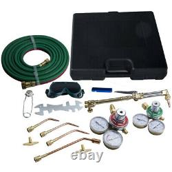 Gas Flame Oxygen Welding Cutting Kit Acetylene Torch Brazing Fit Victor Hose