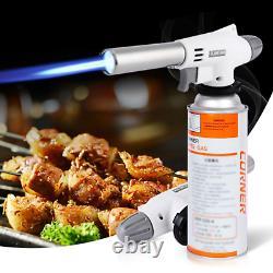 Gas Gun Welding Gas Burner Flame Torch Soldering Butane Blowtorch Cooking AutoIg