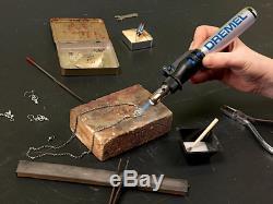 Gas Soldering Iron Kit Butane Burner Pen Welding Torch Cordless Art Crafts Knife