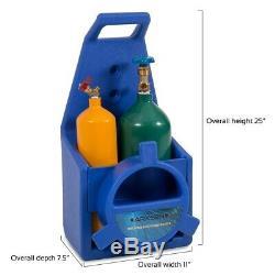 Gas-Welding Arksen Professional Style Torch Kit Oxygen & Acetylene Oxy Tank