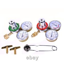 Gas Welding Cutting Kit Oxy Acetylene Fits VICTOR WithHose Oxygen Torch Brazing