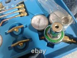 Gas Welding Cutting Kit Oxy Acetylene Oxygen Torch Brazing Fits