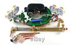 Gas Welding & Cutting Kit Oxygen Torch Acetylene Welder Outfit
