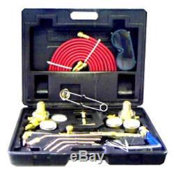Gas Welding Cutting Kit Oxygen Torch Acetylene Welder Oxy