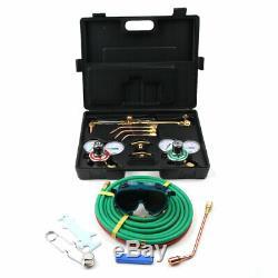 Gas Welding Cutting Kit Oxygen Torch Acetylene Welder Tool Case