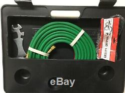 Gas Welding & Cutting Kit Victor Type Acetylene Oxygen Torch Set Regulator