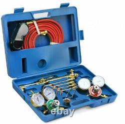 Gas Welding Cutting Torch Kit Oxy Acetylene Oxygen Brazing Set Victor Type