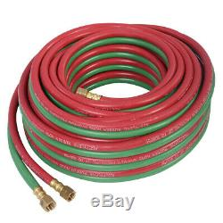 Gas Welding Set Oxygen Acetylene Kit Oxy Torch Cutting Heating Tip Cleaner Case