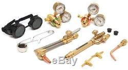 Gas Welding Torch Kit Cutting Outfit Light Duty Oxygen Acetylene Victor Cylinder