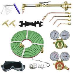 Gas Welding and Cutting Kit Portable Acetylene Oxygen Torch Set Welder HeavyDuty
