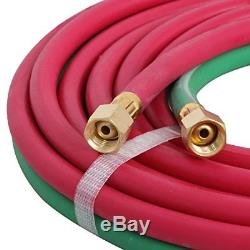 Gas Welding and Cutting Kit Victor Type Acetylene Oxygen Torch Set Regulator