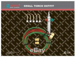 Gentec Small Torch Basic Kit for Oxy/acetylene SOL-225.00 Gas Welding Cutting