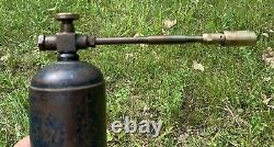 Goss Gas Company Antique Tool Collectible Gas Soldering Welding Torch Set Pair