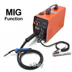 HITBOX MIG Welder 220V Gas Gasless ARC TIG MIG Welding Machine With MIG Torch