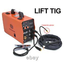 HITBOX MIG Welder IGBT MIG Welder Lift TIG ARC MIG Welding Machine with tig torch