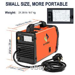 HITBOX MMA ARC Lift TIG MIG Welding Machine 220V Invente Welder with TIG Torch