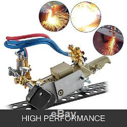 HK-30 Track Torch 0.23-1.2(6-30 mm) Oxygen Gas Cutting Beveling Machine 110V