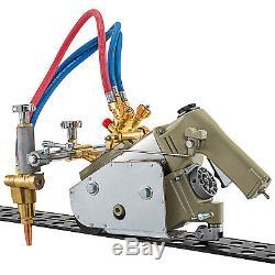 HK-30A Track Torch Burner Cutter 5-60mm Gas Cutting Machine 220V 2x1.8m Track