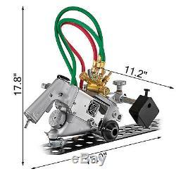 HK-93-2 Track Torch 0.2-4(5-100 mm) Oxygen Gas Cutting Beveling Machine 110V