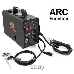 HZXVOGEN 200A MIG Welding Machine ARC Lift TIG Flux Core MIG Welder+TIG Torch