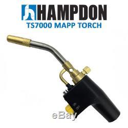 Hampdon TS7000 Style High Intensity Torch Kit for Brazing Soldering Mapp Gas