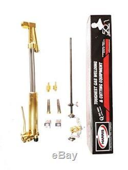 Harris 62-5 18 90° Heavy Duty Straight Cutting Torch for Alternate Fuels AC Gas