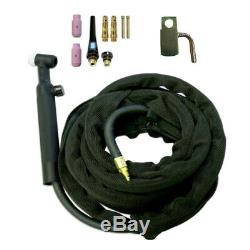 High Quality WP-26 TIG Welding Torch Gas Valve 200A Air-Cool with Torch Head Tool