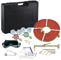 Hiltex 10921 Victor Type Gas Welding and Cutting Kit Acetylene Torch Tool Iron