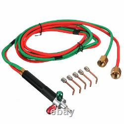 Hot Jewelry Jewelers Micro Mini Gas Little Torch Welding Soldering Kit 5 Tips S