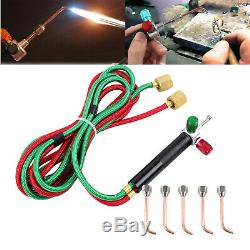 Jewelry Jewelers Micro Mini Gas Little Torch Welding Soldering Cutting with 5 Tips