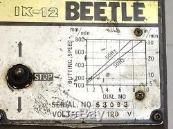 KOIKE IK-12 Beetle Gas Torch Track Cutting Machine