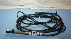 Lincoln Electric PTA-17V Pro-Torch TIG Torch 12.5ft K960-1Dinse Adapter Gas Hose