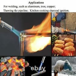 Liquefied Propane Gas Electronic Ignition Welding Torch Gas bottle not included