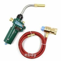 MAPP Gas Brazing Torch Self Ignition Trigger 1.5M Hose Propane Control Welding