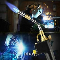 MAPP Propane Gas Welding Torches Plumbing Soldering Tool Metal Flame Gun