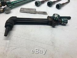 MARQUETTE Oxygen/Acetylene Gas Welding/Cutting Torch Set Kit Gauges 25ft Hose