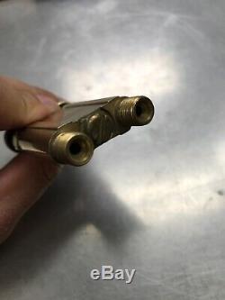 MECO MIDGET Oxygen Gas Welding Brazing Torch Handle Jewelry Repair Nice