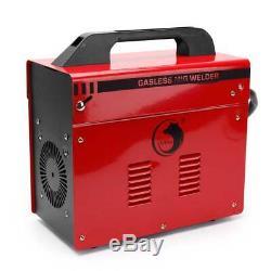 MIG 100 110V 90AMP Flux Wire WELDING MACHINE NO GAS WELDER withAuto Feeding Torch