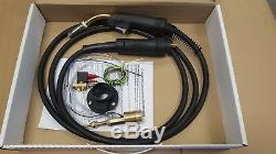 MIG WELDER EURO TORCH CONVERSION KIT (including MB25 3M torch and gas solenoid)