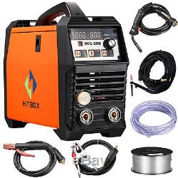 MIG Welder 200amp DC 220V Flux Core Wire Lift Tig ARC Gas & Gasless & TIG torch