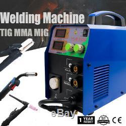 MIG Welder TIG MMA Welding Machine No Gas MIG Welding Gun Torch 200A Gasless