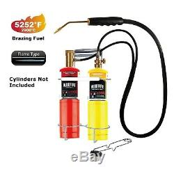 MR. TORCH Gas Welding Cutting Torch kit, Duel Fuel by Oxygen and MAPP MAP Propane