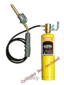 MR. TORCH Self-Igniting Gas Welding Turbo Torch with 3' Hose, MAPP MAP-pro Propane