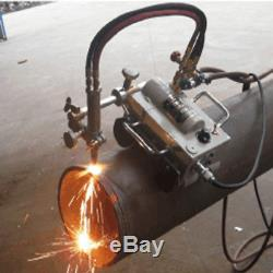 Magnetic Tunnel Pipe Torch Gas Cutting Machine Cutter CG2-11 AG Free shipping