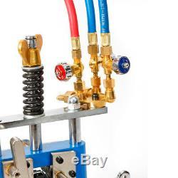 Manual Pipe Cutting Beveling Machine Torch Track Gas Cutter Beveler Kit US STOCK